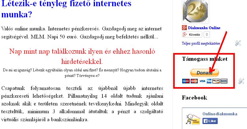 mik azok az oldalak, amelyekkel pénzt lehet keresni 1000 hrivnyát kereshet óránként az interneten