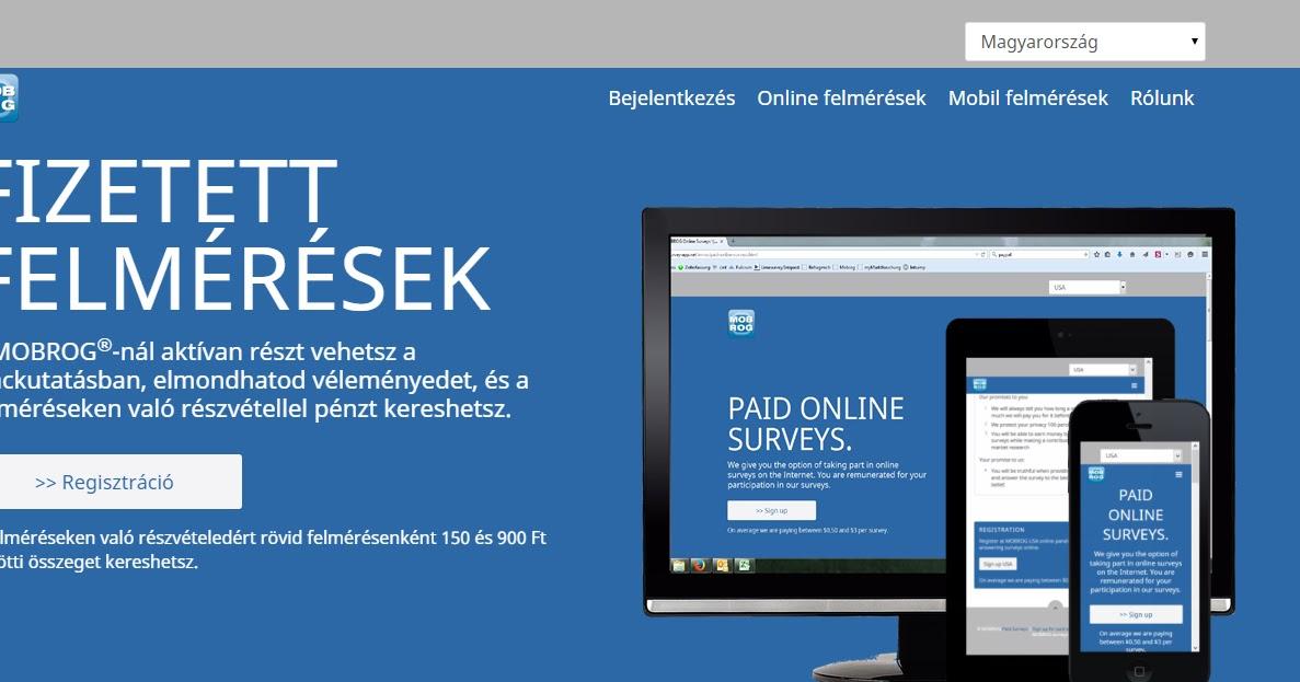 az interneten pénzt kereső webhelyek