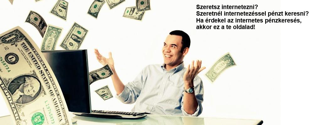 pénzkeresés az interneten befektetés nélkül1