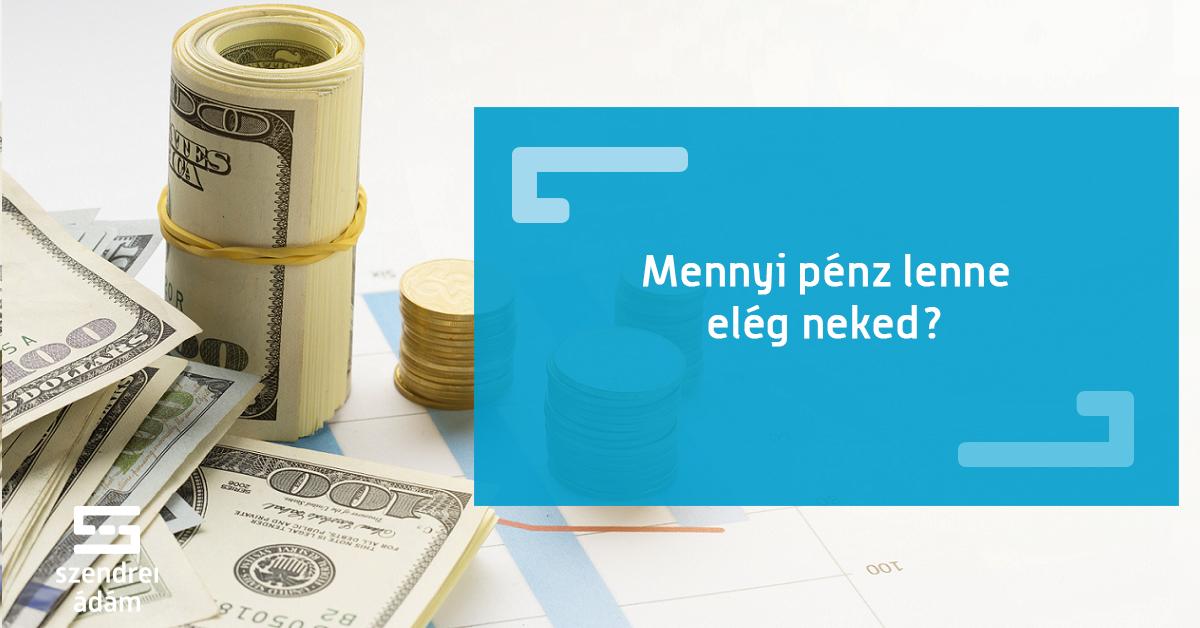 mi igazán segít pénzt keresni