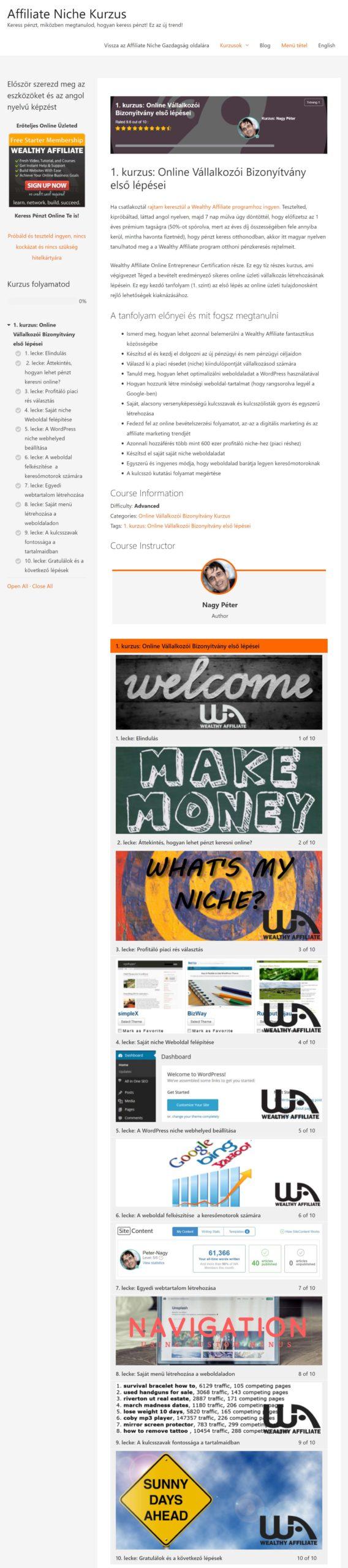 pénzt keresni egy weboldal létrehozásával lehetséges-e opciókkal kereskedni